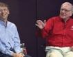 Бъфет дарява $1.53 млрд. на фондацията Гейтс