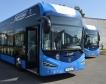 Нови електробуси в Бургас + снимки