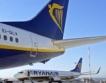 "Самолет на Ryanair летя над ""червената зона"""