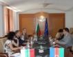 Първанов в Азербайджан
