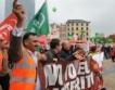 Белгия - работници се бият за местата си