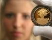 Франция пуска златна монета