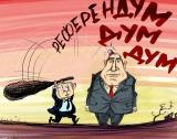 Референдумът в карикатура