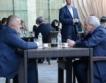 Борисов и Местан на чаша кафе в Кърджали