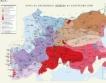 Карта на българския език = 60 диалекта