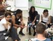Мениджъри обучаваха младежи за интервю за работа