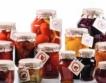 Консервите: 66% - 82% родни плодове & зеленуци
