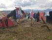 """Разчистване на лагера """"Идомени"""" + видео"""