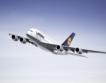 Airbus A380 каца за първи път в София