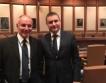 Вл. Горанов и Д. Радев в СБ и МВФ