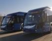 Ултрамодерни автобуси в Бургас