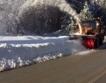 Как чистят снега в Г. Делчев, EU + Видео
