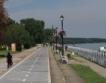 На разходка с електровелосипеди по Дунав