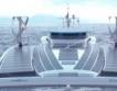 Кораб, движен от слънце и вода, потегли
