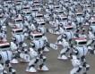 Роботи танцуват за Гинес + видео