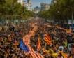 Насилие над гласуващи в Каталуния