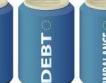 Средният дълг на домакинствата намалява