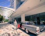 Ретро Mercedes атракция в Албена