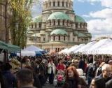 Всеки месец голям фермерски пазар в София