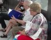 Социалната пенсия за старост = 132,74 лв.
