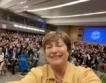 Кр. Георгиева за световната икономика + видео