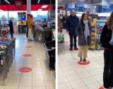Стикери за ред в магазините на Враца