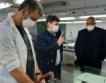 Борисов посети фабрика за мембранни облекла