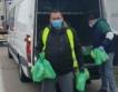 Храна и вода за шофьорите до Капитан Андреево