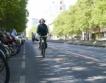 Временна велоалея във Виена
