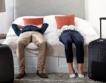 44.7% спад на нощувките за август