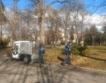 Е-камиончета чистят Борисовата градина
