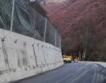 Пътят към Рилския манастир укрепен + видео
