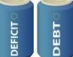 Държавен дълг = 25% т БВП